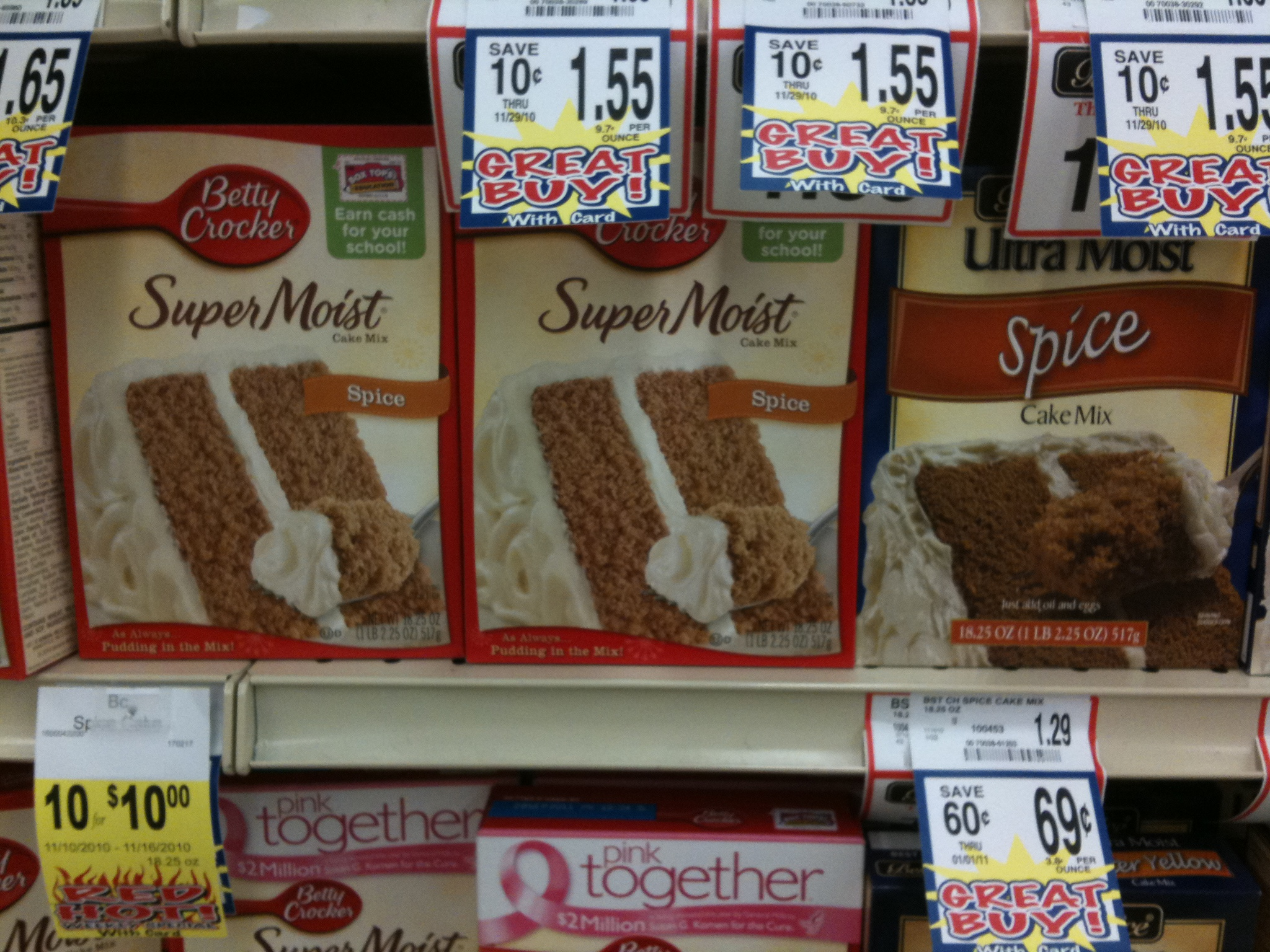 Where To Buy Spice Cake Mix