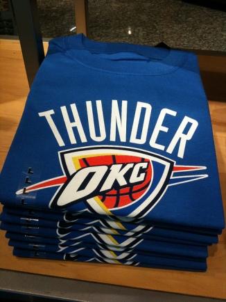 Thunder UP! (photo courtesy @jennifrwhite)