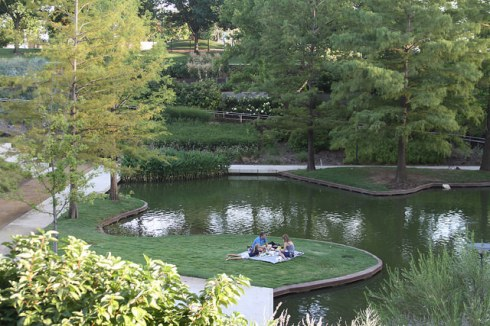 Savor a tranquil moment at the Myriad Botanical Gardens (photo courtesy Memories by Sandra D)