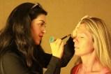 Taylor Ledbetter provided professional make-up for volunteer models