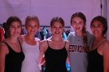 Brink models backstage