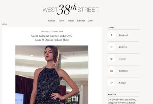 West 38th Street Blog screenshot