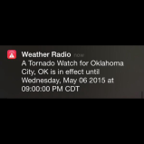 #WeatherRadio #okwx #tornado